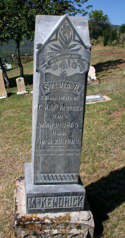 Rhoda Sylvia Sylvia <i>Snyder</i> McKendrick