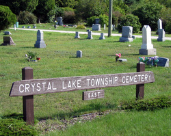 Crystal Lake Township Cemetery - East