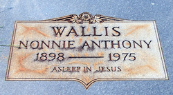 Nonnie <i>Anthony</i> Wallis