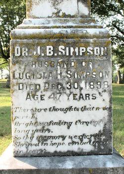 Dr Jeremiah Brady Simpson