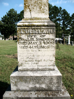 Lugilla <i>Hicks</i> Simpson