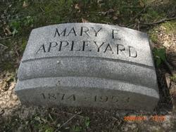 Mary E Mae <i>McCosker</i> Appleyard