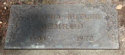 Martha <i>Butler</i> Bemrod