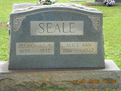 Alice Ann <i>Holston</i> Seale