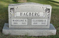 Madeline Katherine <i>Nacy</i> Hagberg