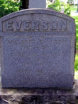 Mary <i>Weller</i> Everson