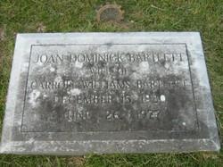 Joan <i>Dominick</i> Bartlett