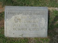 Anna Singleton <i>Hammett</i> Campsen