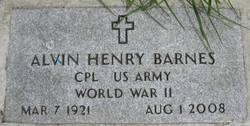 Alvin Henry Barnes