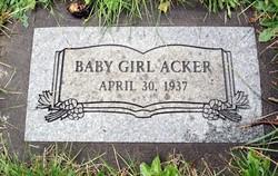 Baby Girl Acker