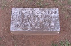 Kate Adair <i>Anderson</i> Hine