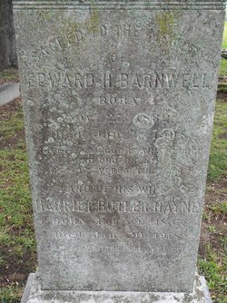 Harriet Butler <i>Hayne</i> Barnwell