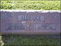 Alma <i>Tyler</i> Aldridge
