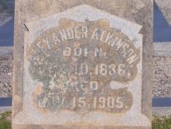 Alexander Atkinson