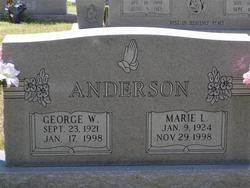 Marie Lula <i>Anderson</i> Anderson