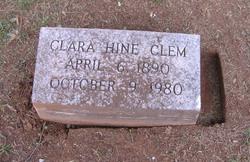 Clara <i>Hine</i> Clem