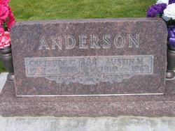 Mary Gertrude <i>Christensen</i> Anderson