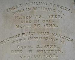 Edgar Athling Barziza