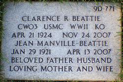Jean M <i>Manville</i> Beattie