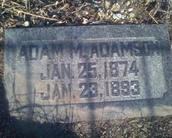Adam Mcgill Adamson