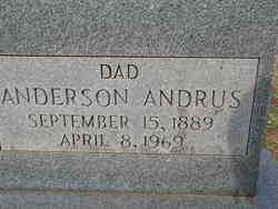Anderson Stephen Andrus