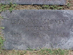 Leonard Sidney Echols