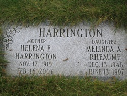 Helena Emma <i>Rohlack</i> Harrington