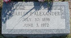 Harley Patrick Alexander