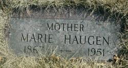 Marie <i>Rusten</i> Haugen