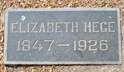 Elizabeth Hege