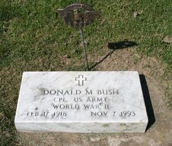 Corp Donald M. Bush