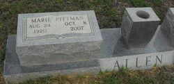 Marie <i>Pittman</i> Allen