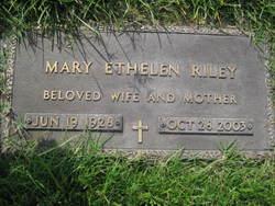 Mary Ethelen <i>Brown</i> Riley