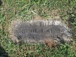 Anna Isadore Annie <i>Robinson</i> Alsip