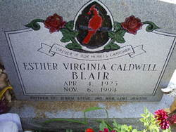 Esther Virginia <i>Caldwell</i> Blair
