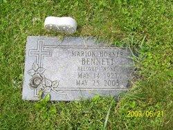 Marion Inez <i>Horner</i> Bennett