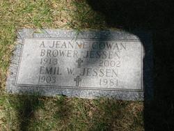 A Jeanne <i>Cowan</i> Brower Jessen