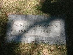 Bertha G <i>Bogue</i> Cowan