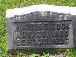 Martha C Mattie <i>Oliver</i> Cook
