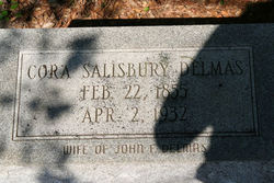 Cora <i>Salisbury</i> Delmas