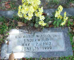 Raymond Wilson Underwood, Jr