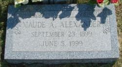 Maude <i>Allen</i> Alexander