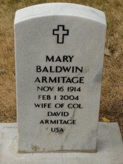 Mary <i>Baldwin</i> Armitage