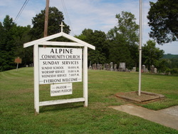 Alpine Community Church and Cemetery