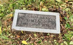 Thomas Hicks Simpson