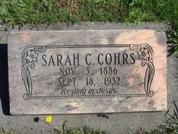 Sarah Christine <i>Berg</i> Cohrs