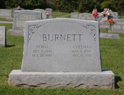 Leta Verna <i>Trantham</i> Burnett