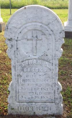 Sarah Alcy <i>Hairston</i> Brooks