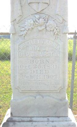 Wortley Virginia <i>Moseley</i> Hairston