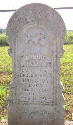 Nannie Montague Hairston